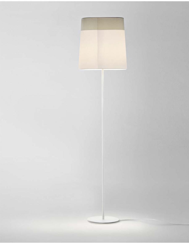Loft White / bela namizna svetilka