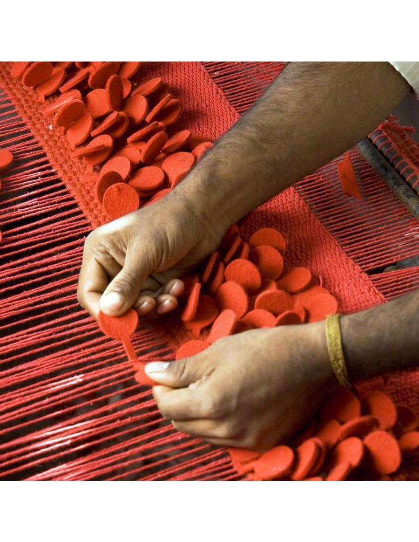 volnena preproga, ročno izdelana - ROSES by Nanimarquina