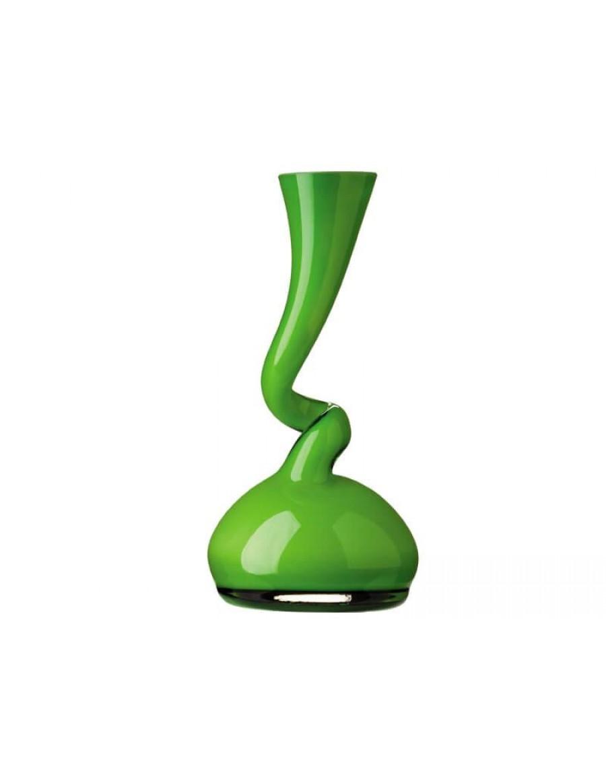 Swing vaza, small, zeleno steklo, Normann Copenhagen