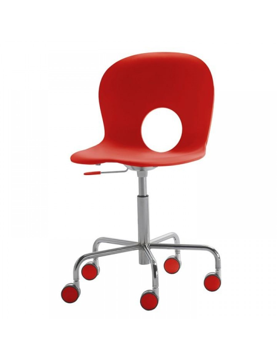 Olivia swivel office chair, adjustable height