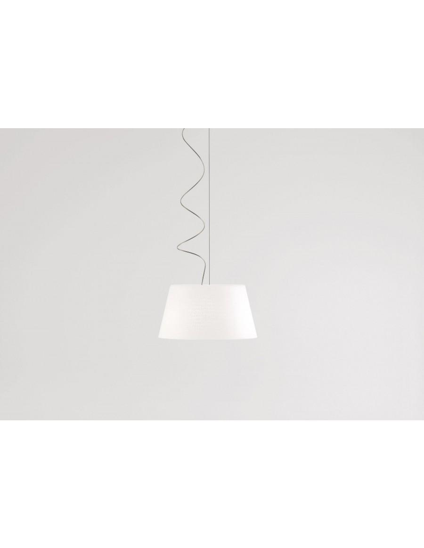 ABC S3 viseča svetilka Opal White Glass