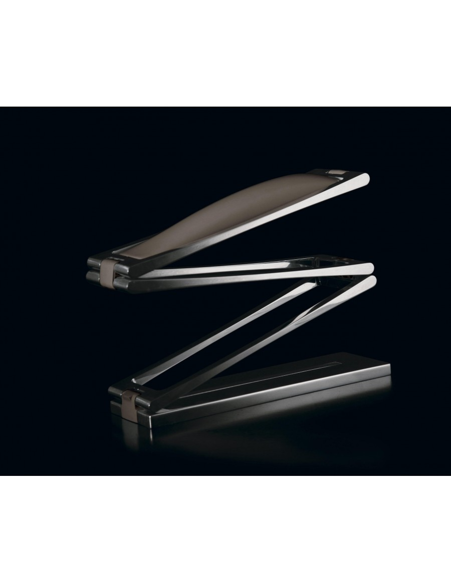 Task LED light by Nemo Polished aluminium/Dark brown