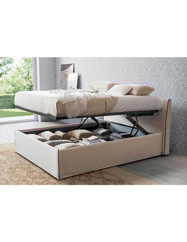 Rigosalotti padded bed Topazio