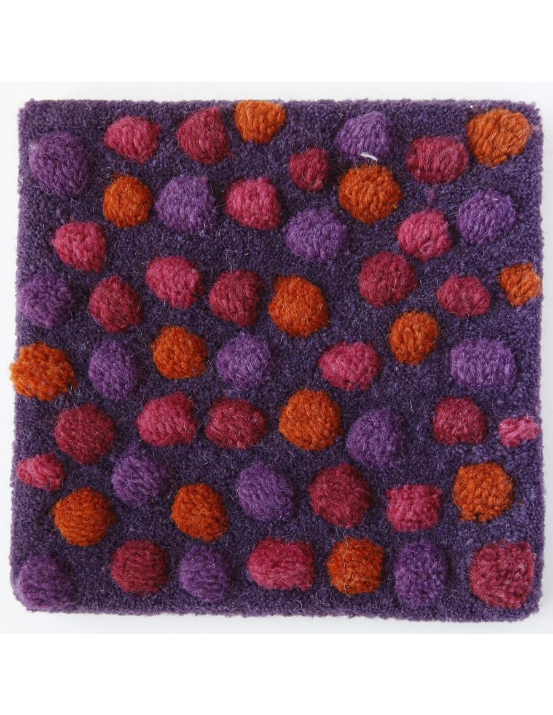 volnena preproga s teksturo - ročno taftana - TOPISSIMO by Nanimarquina