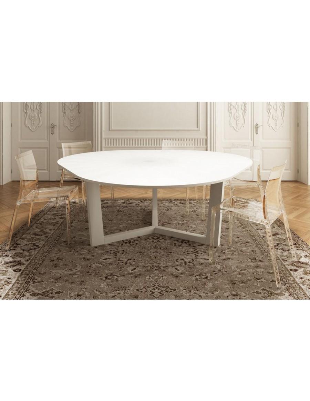 Waves transparenten, Globo raztegljiva miza