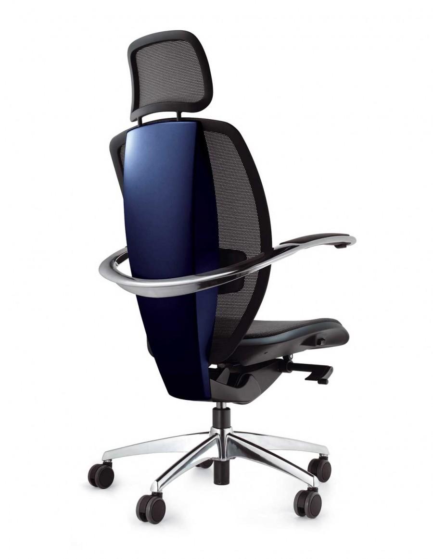 Xten vodstveni stol, poliran aluminij
